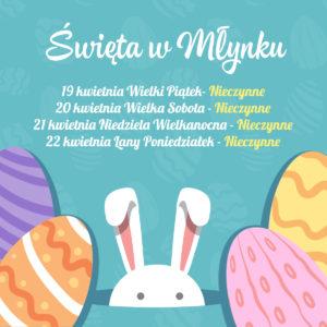 Wielkanoc w Sali Zabaw Młynek