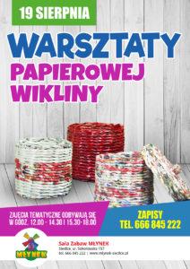 Warsztaty papierowej wikliny